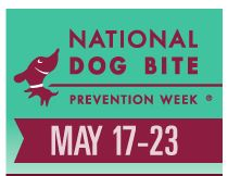 Dog Bite Prevention Week